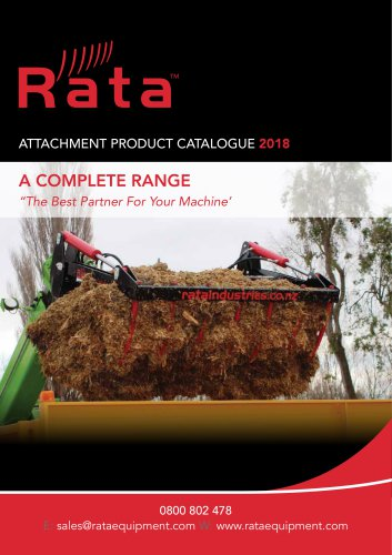 Rata Loader & Telehandler Attachments