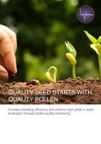 Pollen Analysis Brochure