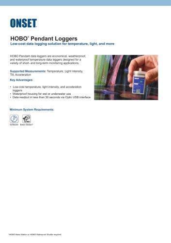 HOBO®  Pendant Loggers