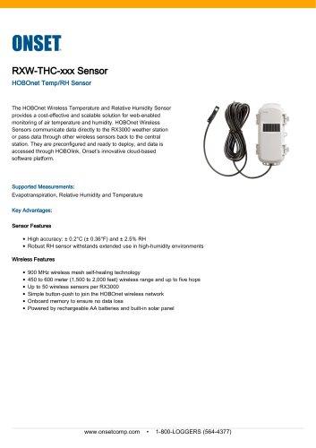 RXW-THC-xxx Sensor