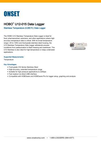 U12-015 Data Logger