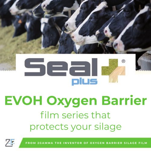 SealPlus Oxygen Barrier film