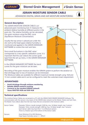 iGRAIN Moisture Sensor Cable