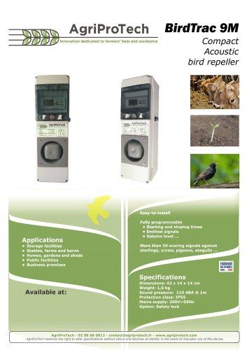 AviTrac® acoustic bird repellers range