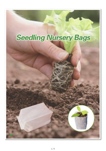 Biodegradable Nursery Grow Bags