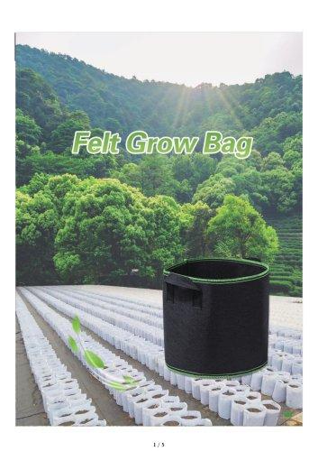 Felt Plant Grow Bags