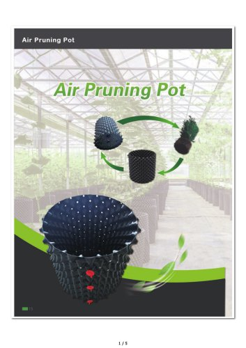 PE Air Pruning Pots/Container for plant tree