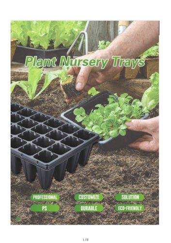 Plant Nursery Seedling Trays