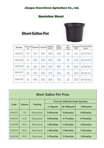 Plastic Plant Pot Price List in Jan 2021