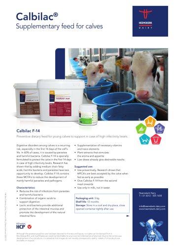 Calbilac Supplementary feed