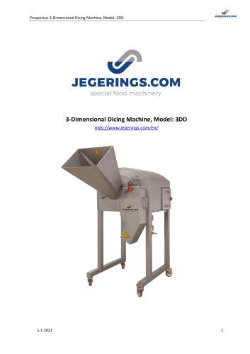 3DD Vegetable Cutting Machine