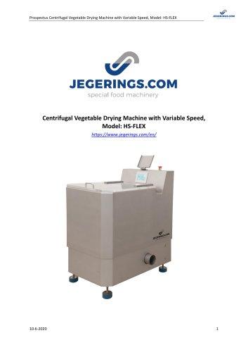 HS-FLEX Vegetable Drying Machine