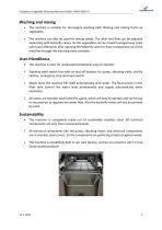 VWM-3600VS Vegetable Washing Machine - 3