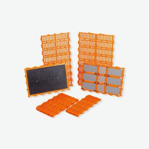 grade de piso plástica / em ferro fundido / para suinocultura / higiênica