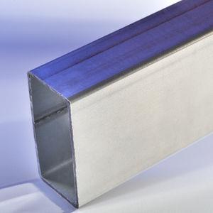 placa de cobertura em aço inoxidável / para galpão agrícola / ondulada