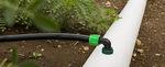 tubo para irrigação por gotejamento / em PE / com fluxo ajustável