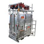 tronco de contenção para vacas / para cuidados com os cascos / para cesarianas