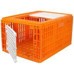 gaiola de transporte de perus / de frangos / em plástico