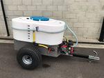 carrinho de distribuição de leite com misturadora / com bomba / de arrasto