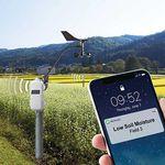 sistema de monitoramento para culturas / de solo / sem fio / remoto