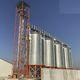 silo para cereais / para ração / em aço / redondo